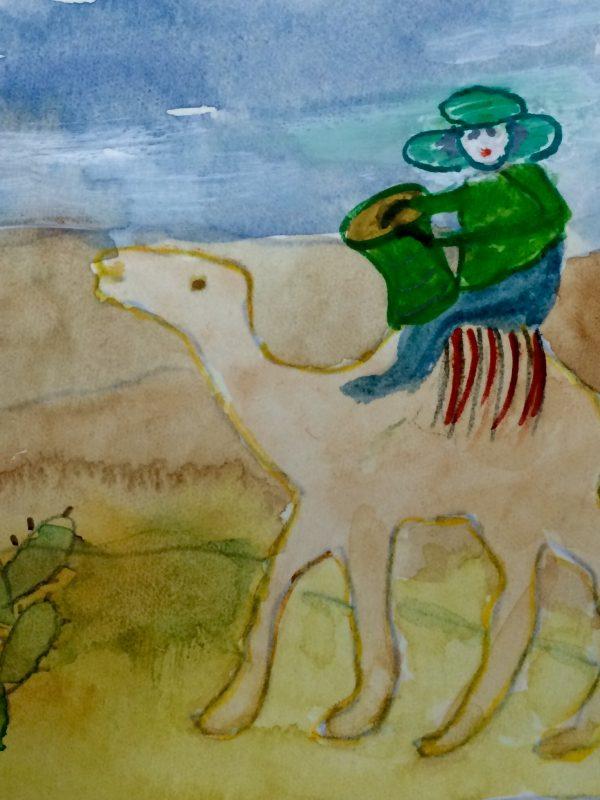 במדבר רוכב לי על גמל